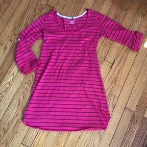 Victoria's Secret Pink /Navy Nightgown S